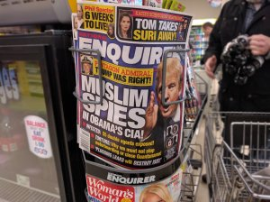 Supermarket tabloid spreads hate against Muslims