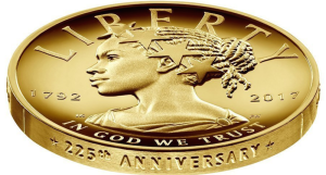 225th Commemorative Liberty coin
