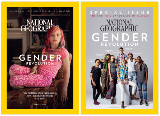National Geographic Gender Special Issue Covers