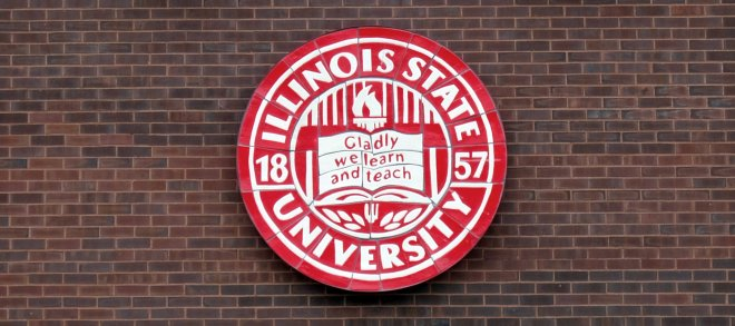 Gladly We Learn And Teach is slogan of Illinois State Universithy
