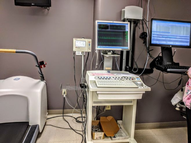Medical treadmill and testing control equipment