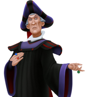 Judge Claude Frollo from Disney's Hunchback of Notre Dame