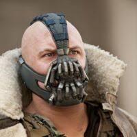 Bane wearing mask