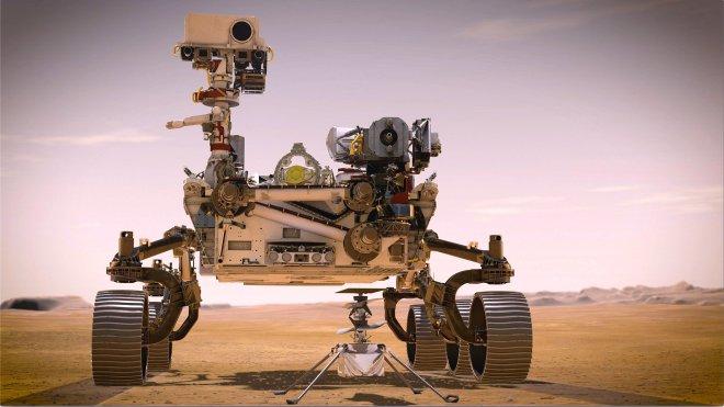 Mars rover Perseverance